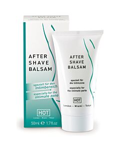 Hot aftershave balm 50 ml