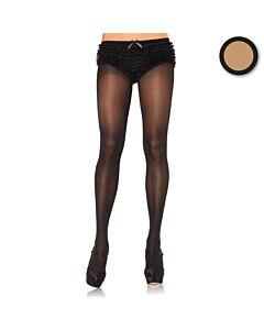 Leg avenue beig high waist panties plus