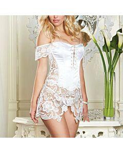 Cream ballerina corset