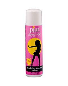 Pjur lubricant stimulant effect Myglide heat 30 ml