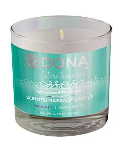 Dona naughty massage candle 135 gr