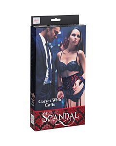 Scandal corse with handcuffs