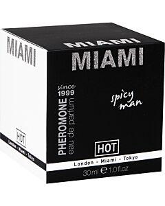 Hot miami perfume for men 30 ml