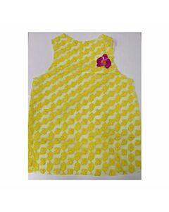 Costume woman yellow hearts
