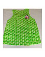 Woman costume green hearts